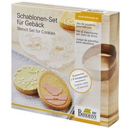 Birkmann Szablony do dekoracji ciasteczek wielkanoc