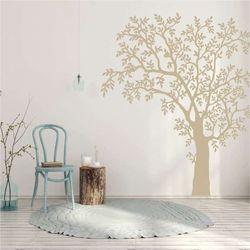 szablon na ścianę drzewo 2381