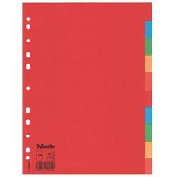 Przekładki indeksujące Esselte A4/10kart, 100201