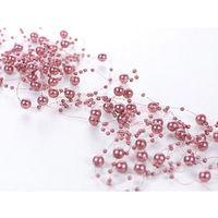 Ap Girlanda perłowa brudny róż- 1,3 m - 5 szt. (5901157430663)