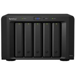 5bay plug n use expansion unit add disks to ds712+/ds1512+/ds1812+ wyprodukowany przez Synology