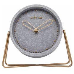 Zegar stojący Cross Table Nextime (szary), kolor Zegar