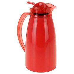 Kolorowy termos z wkładem szklanym - termos na herbatę 1 l