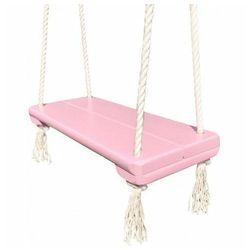 Różowa dziecięca huśtawka dla dziewczynki - Rino, huśtawka