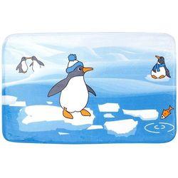 Dywanik łazienkowy TATKRAFT 18624 Penguins - produkt z kategorii- Dywaniki łazienkowe