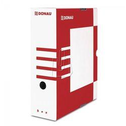 Pudełko archiwizacyjne 100mm Donau czerwone, BP7355
