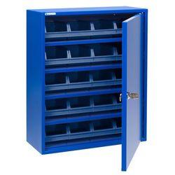 Szafka warsztatowa serve z pojemnikami, 580x470x205 mm, niebieski marki Aj produkty