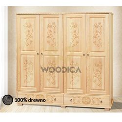 Woodica 6. szafa góralska [4d2s] 202x190x57