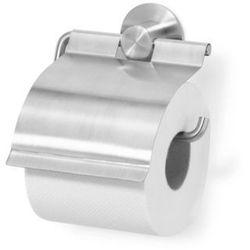 Zack  - uchwyt na papier toaletowy z klapką marino - stal nierdzewna matowa