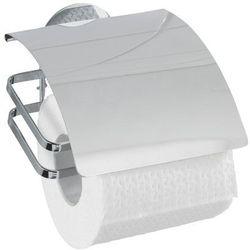 Wenko Uchwyt na papier toaletowy cover, turbo-loc - stal nierdzewna,