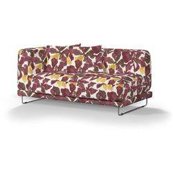 Dekoria Pokrowiec na sofę Tylösand 2-osobową nierozkładaną, żółto-brązowe kwiaty, sofa tylösand 2-osobowa nierozkładana, Wyprzedaż do -30%