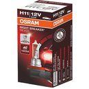 Osram® h11 night breaker® silver + 100% | box