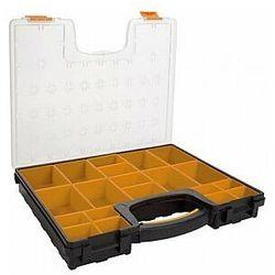 plastikowy organizer z wyjmowanymi pojemnikami - 420 x 335 x 65 mm marki Perel