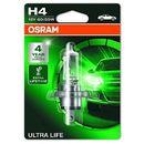 OSRAM H4 12V 60/55W P43t ULTRA LIFE® (3 lata gwarancji) (4052899425149)