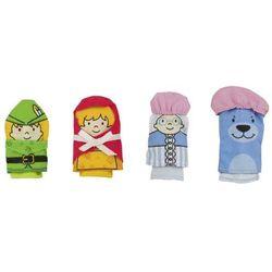 Zestaw pacynek na dłoń - zabawki dla dzieci - produkt dostępny w www.epinokio.pl