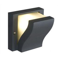 Kinkiet Nowodvorski Makalu 4437 lampa oprawa ścienna zewnętrzna 1x40W G9 IP44 grafit (5903139443791)