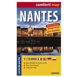ExpressMap Nantes Plan Miasta 1:15 000 comfort! map, pozycja z kategorii Geografia