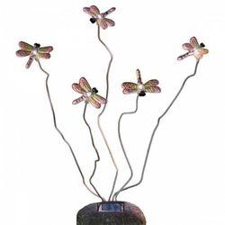 Konstsmide libelle lampa solarna o wyglądzie kamienia - nowoczesny - obszar zewnętrzny - libelle - czas dost