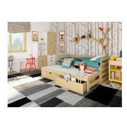 Łóżko dwuosobowe nono z materacami marki 39