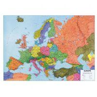 B2b partner Europa - mapa polityczna