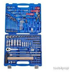 King tony Zestaw nasadek 1/4'' + 1/2'' 110cz. 5 -30mm 12-kąt. z akcesoriami, + narzędzia uniwersalne  7010mr
