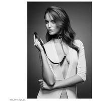 Bijoux Indiscrets - MAZE Wide Choker & Leash Brown