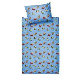 4home Jahu pościel bawełniana do łóżeczka samochodziki, 90 x 130 cm, 40 x 60 cm