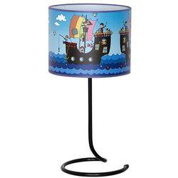 Lampka stołowa dziecięca Aldex Piraci 1x40W E14 niebieski 657B12