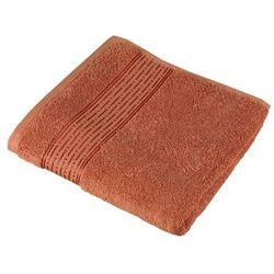 Bellatex  ręcznik kąpielowy kamilka pasek terra, 70 x 140 cm, kategoria: ręczniki