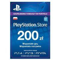 playstation network 200 zł [kod aktywacyjny] marki Sony
