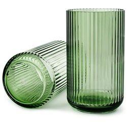 Wazon szklany 25 cm, zielony - Lyngby Porcelain, 201049