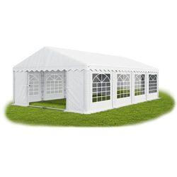 4x8x2m, Wzmocniony Pawilon ogrodowy wystawowy handlowy Stabilna Konstrukcja SUMMER PLUS - 32m2