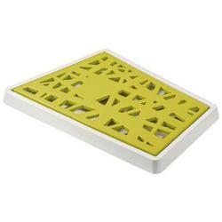 Deska do krojenia pieczywa matrix musztardowa marki Koziol