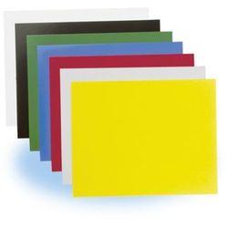 Okładki kartonowe chromo, czarny, opakowanie 100 sztuk marki Fellowes