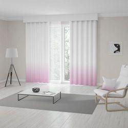 Zasłona okienna na wymiar - LIGHT PINK - KOLOR 100 CM