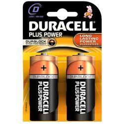 Bateria alkaliczna Duracell Plus Power LR20 D 2 sztuki - sprawdź w wybranym sklepie