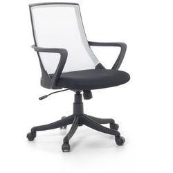 Krzesło biurowe białe - fotel biurowy obrotowy - meble biurowe - ERGO