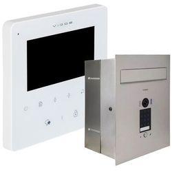 Zestaw wideodomofonu cyfrowego skrzynka na listy Vidos S1401D-SKP M1022W-2
