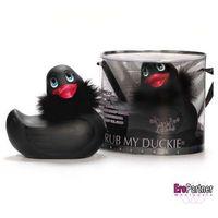 Kaczuszka do kąpieli - Duckie Paris Black