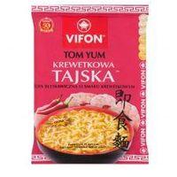 Zupa błyskawiczna Vifon Tom Yum Krewetkowa Tajska o smaku krewetkowym ostra 70 g