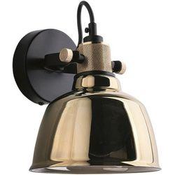 Nowodvorski Kinkiet ścienny amalfi gold i model 9155 kolor czarny