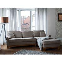 Narożnik jasnobrązowy - kanapa - sofa - narożna - wypoczynek - NEXO z kategorii Narożniki