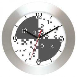 Atrix Zegar ścienny aluminiowy cyferki #3