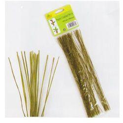 Gardetech Drut w papierowej otulinie zielony 15cm 100szt