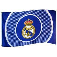 Flaga klubowa real madryt 152 cm x 91 cm marki Gadzetowo24.pl