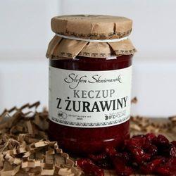Keczup z żurawiny wyprodukowany przez Skwierawski