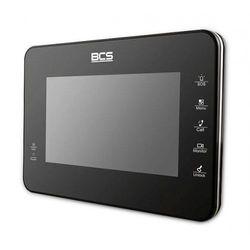"""-mon7000b monitor do wideodomofonu 7"""" czarny z dotykowym ekranem pojemnościowym marki Bcs"""