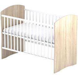 Sun Baby Drewniane łóżeczko Baby Sky PANDA, Dąb 107