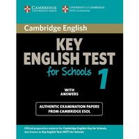 Cambridge KET for Schools 1 Student's Book (podręcznik) with Answers (150 str.)