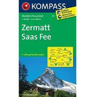 Kompass Karte Zermatt - Saas Fee
